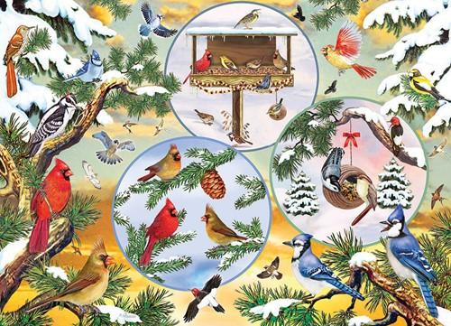 Cobble Hill puzzle 500 pieces - Winterbird Magic