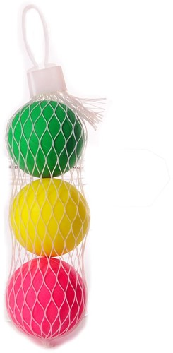 Angel Sports 3 Beachball ballen in net