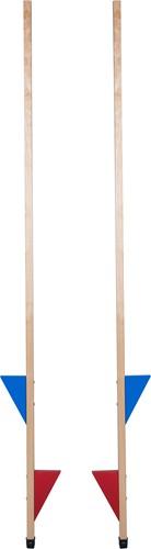 Van Dijk Toys Stelten beukenhout 170 cm, verstelbaar
