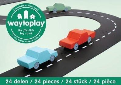 Waytoplay starterset Highway - 24 pieces