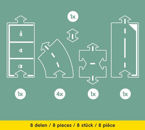 Waytoplay extension Halfway - 8 pieces