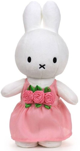"""Miffy pink roses - 24 cm - 9,5"""""""""""