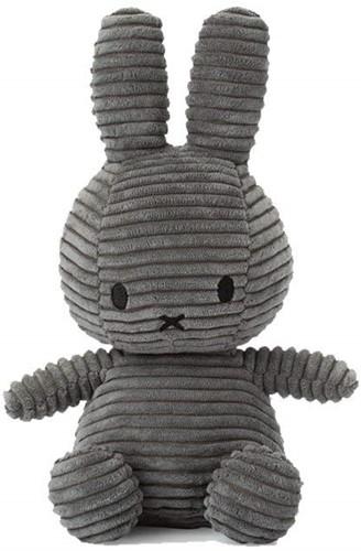 "Miffy Corduroy dark grey - 23 cm - 9"""""