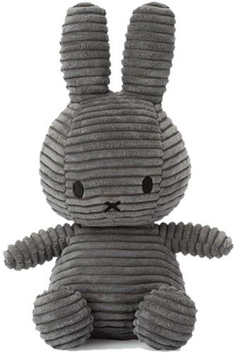"Miffy Corduroy dark grey - 33 cm - 13"""""