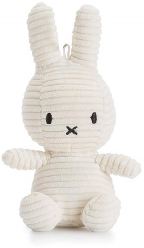 "Miffy Corduroy white keychain - 10 cm - 4"""""