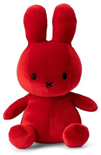 """Miffy Sitting Velvet Candy Red - 23 cm - 9"""""""""""