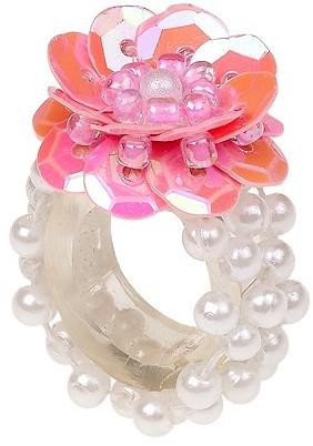 Souza Ring Mary, l.rose-parel, volledig elastisch (1 stuk)