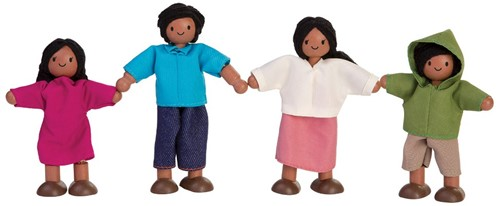 Plan Toys Poppen Famillie