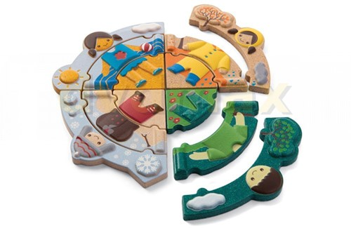 Plan toys Weer Puzzel