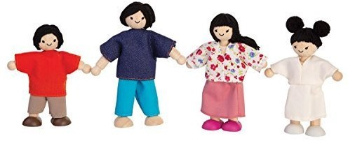Plan Toys Aziatische Familie