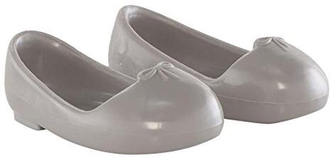 Corolle Ma Cherie accessoire Ballet Flat Shoes-Grey 33cm