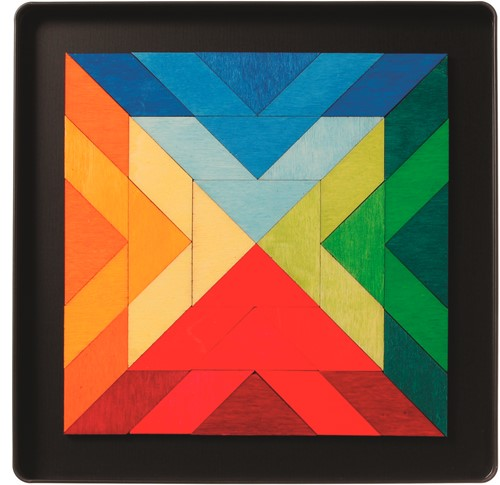 Grimm's - Magnet Puzzle Square Indian