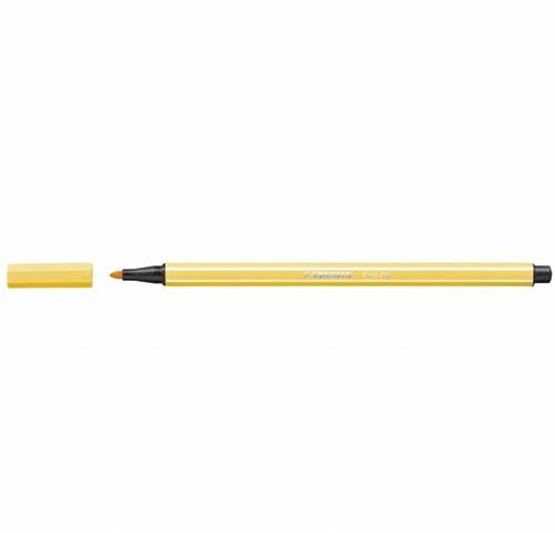 STABILO Pen 68 felt pen Yellow 1 pc(s)