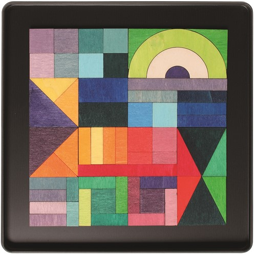 Grimm's - Magnet Puzzle Geo-Graphical