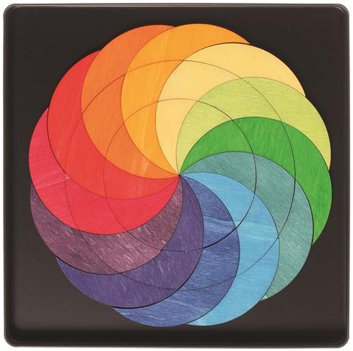 Grimm's - Magnet Puzzle Rainbow Wheel