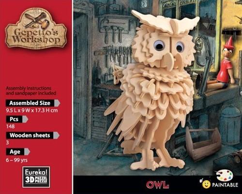 Gepetto's Workshop Owl
