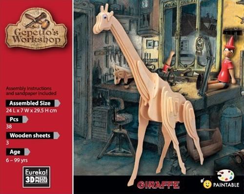 Gepetto's Workshop Giraffe