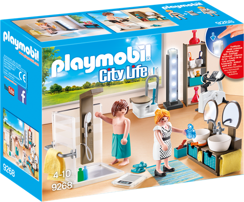 Playmobil City Life 9268 children toy figure set