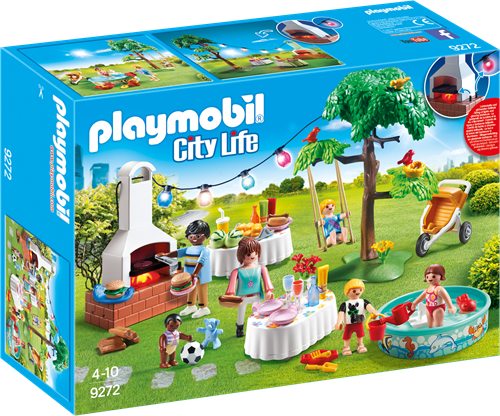 Playmobil City Life 9272 children toy figure set