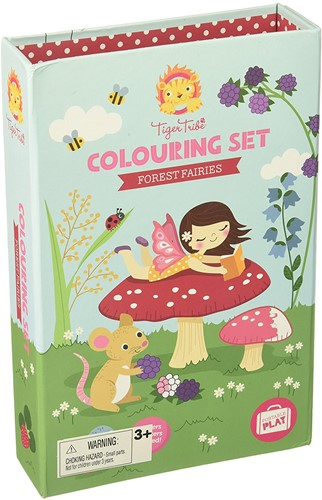 Tiger Tribe Colouring Sets/Forest Fairies