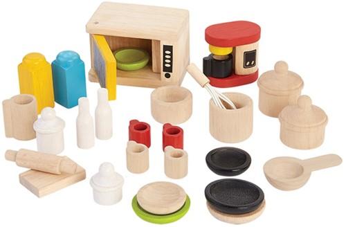 PlanToys Acc. For Kitchen & Tableware Furniture set