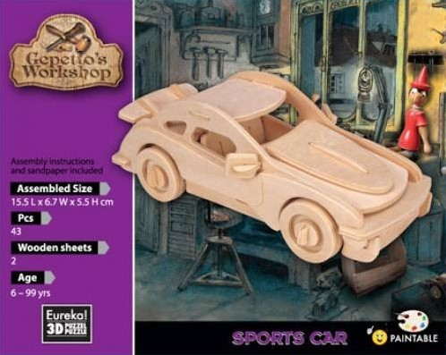Gepetto's Workshop Sports Car