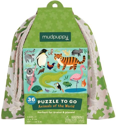 Mudpuppy 4598 puzzle Jigsaw puzzle 36 pc(s)