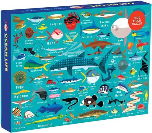 Mudpuppy 1000 pcs Puzzle/Ocean Life