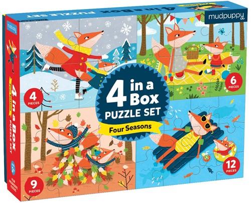 Mudpuppy 4 in a  Box/Four Seasons