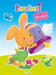 Planet Happy  kleurboek Paasfeest kleurblok