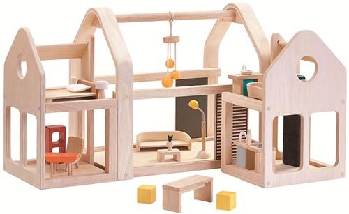 Plan Toys Schuif en ga - Poppenhuis