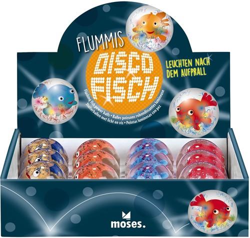 Moses Stuiterbal lichtgevend vis 4 assorti