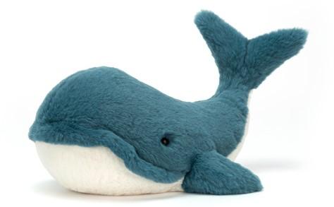 Jellycat knuffel Wally Whale Tiny 10cm
