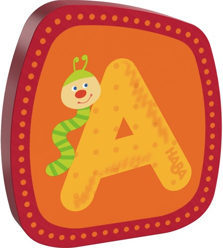 HABA Wooden letter A