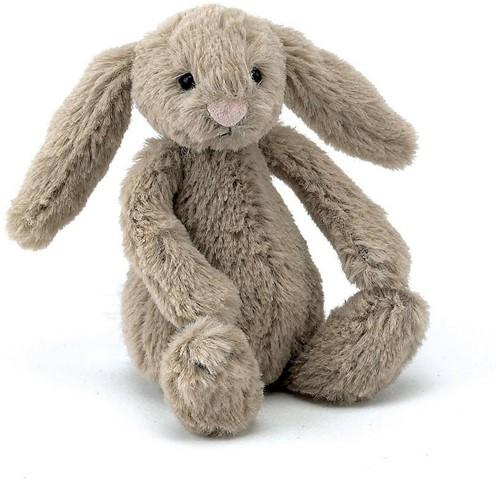 Jellycat knuffel Bashful Beige Bunny Baby 13cm