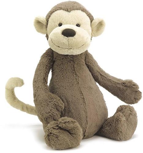 Jellycat knuffel Bashful Monkey Huge 51cm