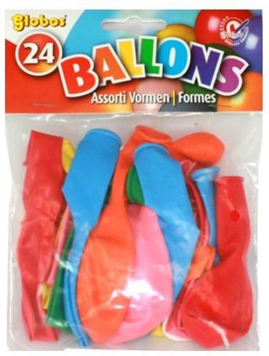 Globos 24 ballonnen in zakje