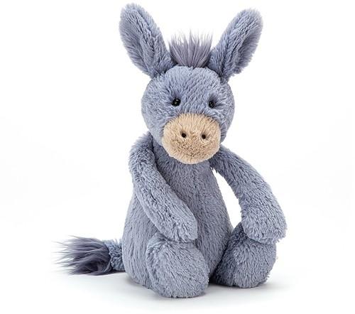Jellycat knuffel Bashful Donkey Medium 29cm