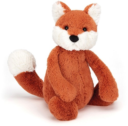 Jellycat knuffel Bashful Fox Cub Small 18cm