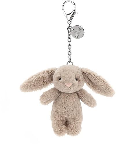 Jellycat Bashful Bunny Beige Bag Charm