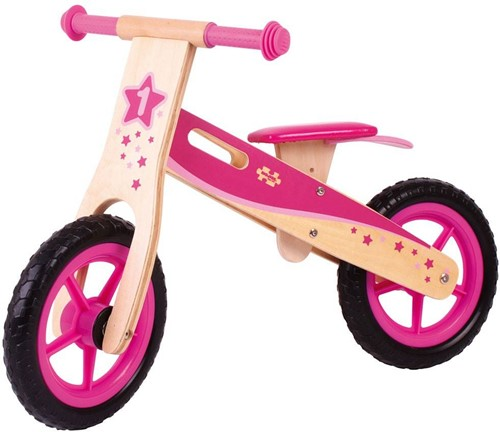 Bigjigs My First Bike - Pink