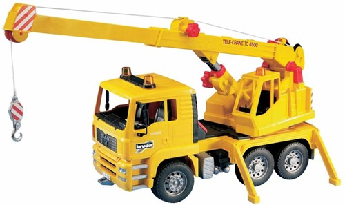 BRUDER MAN Crane truck (without Light and Sound Module) toy vehicle