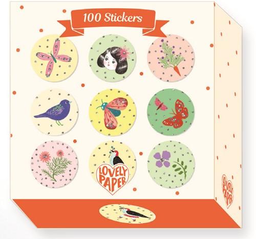 Djeco Chic - 100 Stickers