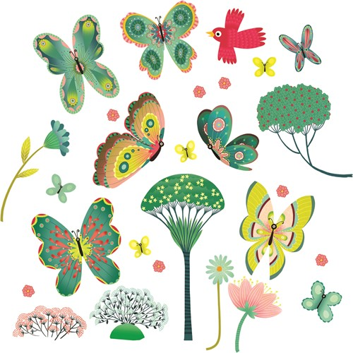 Djeco Papillons au jardins