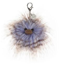 5f12773fa63a53 Jellycat knuffel Just Peachy Bag Charm 7cm