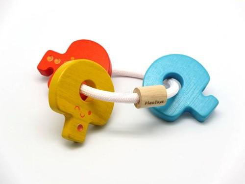 Plan Toys Baby Sleutels Rammelaar