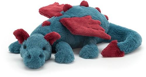 Jellycat knuffel Dexter Dragon 50cm