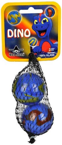 Don Juan  buitenspeelgoed Knikkers Dino 42mm