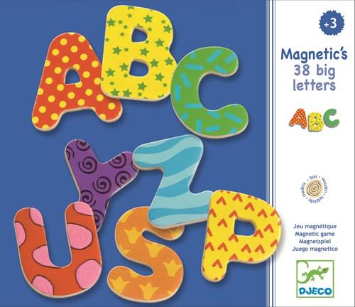 DJECO 38 big letters - 21,8 x 18,8 x 3 cm