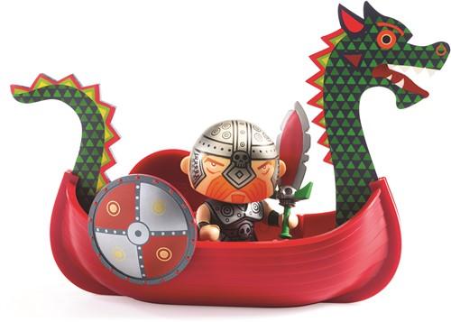 Djeco Arty Toys - Pirates Drack & Ze drakkar